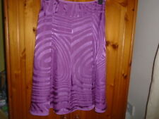 Gorgeous magenta purple silk blend skirt, MONSOON, size 12