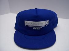 GM Truck Bus Group National Steel Trucker Hat Snapback Blue