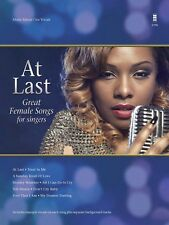 At Last Great Female Songs in the Style of Etta James for Singers NEW 000154198