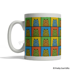 Norwich Terrier Dog Mug - Cartoon Pop-Art Coffee Tea Cup 11oz Ceramic