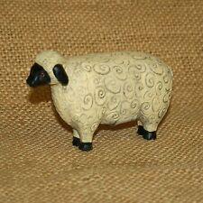 Resin Sheep Figurine Country Home Decor