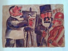 Franz Borghese | Acquarello su cartoncino (35x50cm)