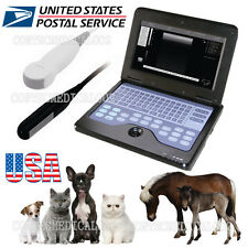 USA VET Veterinary portable Ultrasound Scanner Machine For horse/Dog,2 Probes,CE