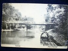 OLD PPC: INDONESIA~TJILATJAP~CILACAP~1928~SEND FROM S.S. MOENA~ANIMATED