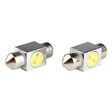 2 x Festoon LED Bulb T10 31MM 1W Light Interior Festoon Lamp