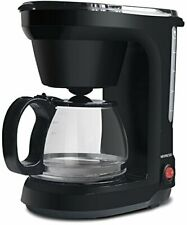 5-Cup Drip Coffee Maker, Coffee Pot Machine Including Reusable And Removable Cof