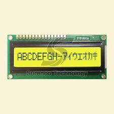 161 1601 16X1 Character LCD Module Display Screen LCM (Black on Yellow Green)