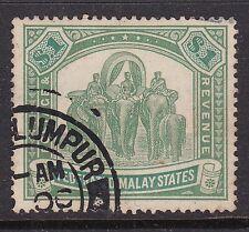 "MALAY^^^^^^1900  RARER  YT# 23  used  "" Elephants""  CLASSIC $180.00@ sc1"