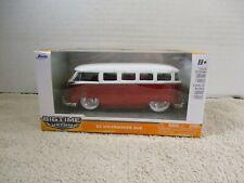 BIG TIME MUSCLE ~ JADA ~ '62 VOLKSWAGEN VW BUS ~ 1/32