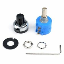 10K Ohm 3590S-2-103L Potentiometer + 10 Turn Counting Dial Rotary Knob Suit