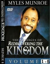 Messages of Rediscovering the Kingdom - Volumes 1 - 5  (16 Dvds) Myles Munroe