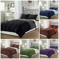 200 GSM 1PC Down Alternative Comforter&4Pc Sheet Set US Sizes All Solid Colors