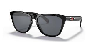Oakley FROGSKINS Sunglasses OO9245-B654 Polished Black W/ PRIZM Grey ASIA FIT