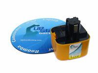 Battery for Panasonic EY3502FQMKW, EY3790B 12V 12 Volt NIMH 3500mAh