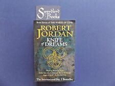   @Oz    THE WHEEL OF TIME #11 : Knife of Dreams By Robert Jordan (2005), Lge SC