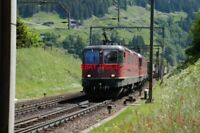 PHOTO  SWITZERLAND 2006 WASSEN   LOCO NO 11274 view 2