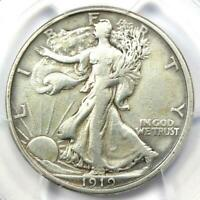 1919-S Walking Liberty Half Dollar 50C - PCGS VF Details - Rare Date Coin!