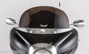 "Yamaha XVZ 1300 Royal Star Venture - NEW 10"" Dark Smoke Tinted Windshield"