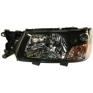 Headlight For 2003-2004 Subaru Forester X XS 2004 Forester XT Left With Bulb