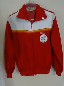 70's Mizuno Superstar Japan Nationals 4 Nation Meet Track Jacket Men L 182-98-90