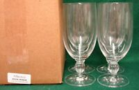 Mikasa ROYAL MANOR Ice Tea Glasses  SET of FOUR Mint in Box More Items Available