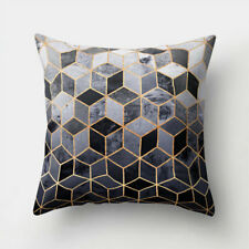 45x45cm Geometric Printed Pillow Case Sofa Cushion Cover for Car Office Home