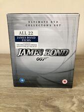 James Bond Ultimate Collectors Set (DVD, 2009, Box Set)