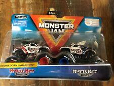 Monster Jam MONSTER MUTT  DALMATIAN & MONSTER MUTT HUSKY 1:64 Scale 2 Pack NEW