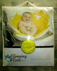 Blooming Bath Lotus Baby Bathing Mat Flower Bath Turquoise NIB Authentic yellow