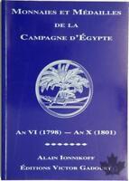 Gadoury Monnaies et médailles de la campagne d'Egypte