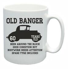 60th Novelty Birthday Gift Present Tea Mug Old Banger 60 Years Old Coffee Cup