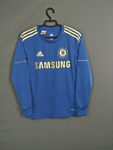 Chelsea Jersey 2012 2013 Long Sleeve 13-14 y Youth Blue Shirt Adidas W38454 ig93