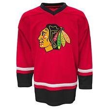 Chicago Blackhawks Hockey~NHL Replica Jersey~RED & Black~Men's 2XL~FREE Shipping