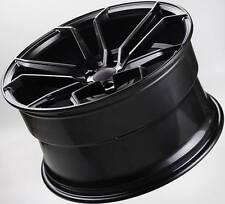 4 x 20 inch OC502 NEW BLACK WHEELS HOLDEN VZ VE VF FORD BA BF FG NISSAN AUDI