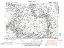 Ynshir, Pontygwaith, Tonypandy, old map Glamorgan 1948: 27NE repro Wales