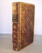 VOYAGE EN JUDEE / DE DAMAS / RELIURE 1/2 CUIR 1870 / ORIENT II