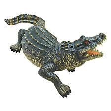 Florida Gator Alligator Sculpture Home Garden Pond Angry Crocodile Outdoor Decor