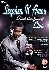 Stephen K Amos - Find The Funny - Region 2 DVD