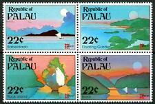 """PALAU - 1987 - """"Capex '87"""". Esposizione Filat. Internaz. - Paesaggi delle Isole."""