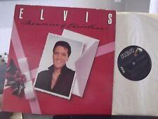 ELVIS PRESLEY MEMORIES OF CHRISTMAS LP ON RCA BLACK LABEL
