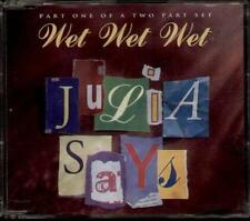 WET WET WET JULIA SAYS 4 TRACK CD SINGLE CD 1 FREE P&P
