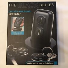 Nib The Black Series Portable Electronic Key Finder Locates Keys Hard To Find