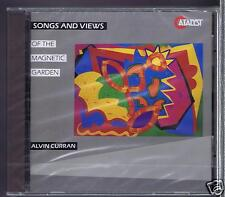 ALVIN CURRAN CD NEW SONGS & VIEWS OF THE MAGNETIC GARDEN
