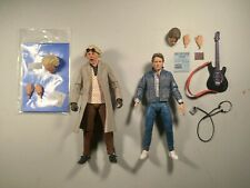 Neca Back To The Future Doc And Marty Mcfly Figures Complete