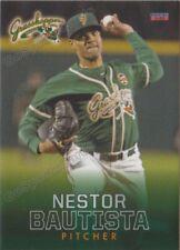 2018 Greensboro Grasshoppers Nestor Bautista RC Rookie Miami Marlins