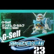 SD Gundam Warrior NEXT 23 Gashapon - YG-111 Gundam G-Self [Space Equipment]