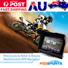 5 Inch Motorcycle 256M RAM 8GB GPS Navigator Navigation Car Waterproof SAT NAV