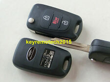 NEW 3 BUTTON REPLACEMENT FLIP KEY KEYLESS REMOTE FOB SHELL CASE NY0SEKSAM11ATX