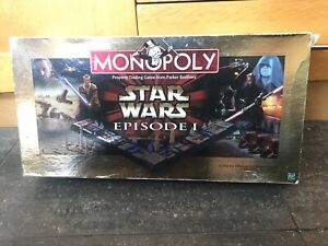 Monopoly Star Wars Episode 1 Collector Edition - Boxed and Complete