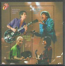 ÖSTERREICH/ Musik-Rolling Stones MiNr Block 21 **